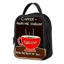 Coffee Coexist Neoprene Lunch Bag