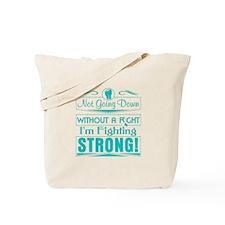 Cervical Cancer Fighting Strong Tote Bag