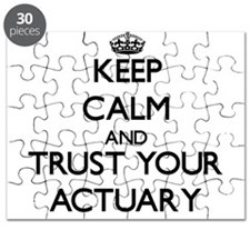 Keep Calm and Trust Your Actuary Puzzle
