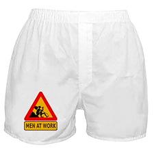 Men At Work Boxer Shorts