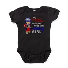 CHD Combat Girl 1 Baby Bodysuit