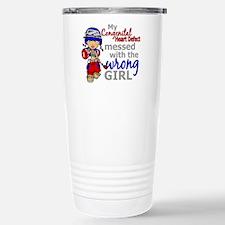 CHD Combat Girl 1 Stainless Steel Travel Mug
