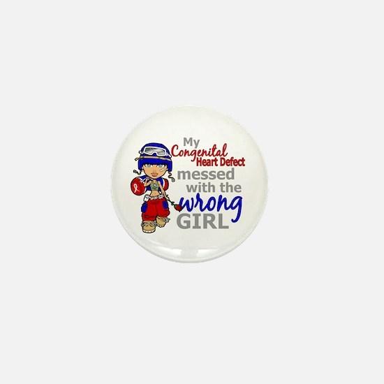 CHD Combat Girl 1 Mini Button