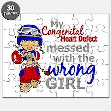 CHD Combat Girl 1 Puzzle