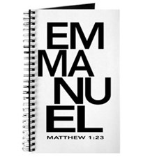 Emmanuel Matthew 1:23 Journal