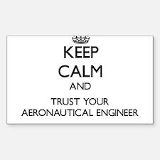 Keep Calm and Trust Your Aeronautical Engineer Sti