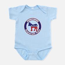 Pennsylvania Democratic Party Original Body Suit
