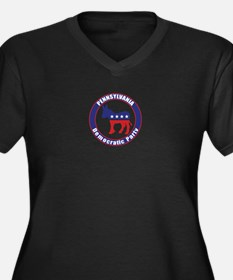 Pennsylvania Democratic Party Original Plus Size T