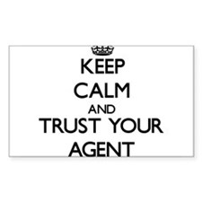Keep Calm and Trust Your Agent Decal