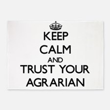 Keep Calm and Trust Your Agrarian 5'x7'Area Rug