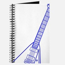 Custom Blue Electric Guitar Journal