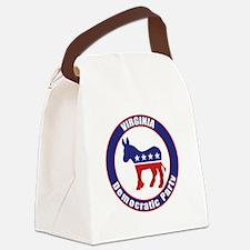 Virginia Democratic Party Original Canvas Lunch Ba