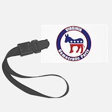 Virginia Democratic Party Original Luggage Tag