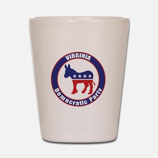 Virginia Democratic Party Original Shot Glass