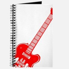Custom Red Electric Guitar Journal