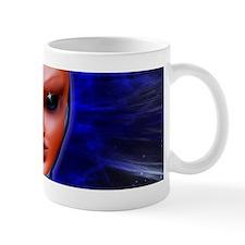 Blue Alien Mental Energy Mugs