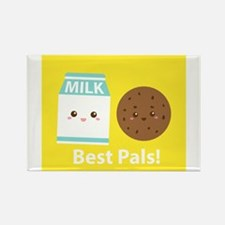 Cute Cookies milk Rectangle Magnet