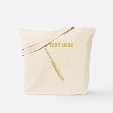 Custom Gold Flute Tote Bag