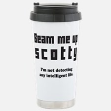 beam me up scotty Travel Mug