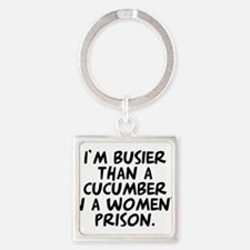cucumber in a womens prison Keychains