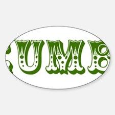 cucumber in a womens prison2 Decal