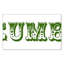 cucumber in a womens prison2 Decal