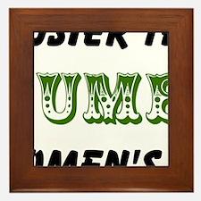 cucumber in a womens prison2 Framed Tile