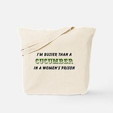 cucumber in a womens prison2 Tote Bag