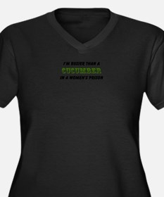 cucumber in a womens prison2 Plus Size T-Shirt