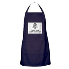 Keep Calm and Trust Your Anesasiologist Apron (dar