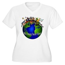 """""""We Were Here First"""" T-Shirt"""