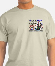 CHD Christmas Penguins 1 T-Shirt