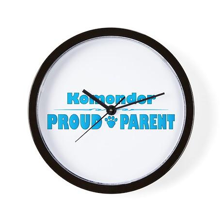 Komondor Parent Wall Clock