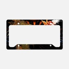 Dragon Style License Plate Holder