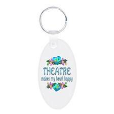 Theatre Heart Happy Keychains