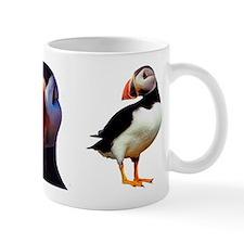 """""""Puffin Trio"""" Small Mug"""