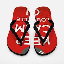 Keep Calm and Louisville On Flip Flops