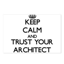 Keep Calm and Trust Your Architect Postcards (Pack
