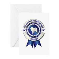 Showing Samoyed Greeting Cards (Pk of 10)