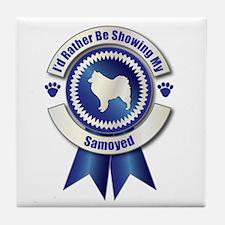 Showing Samoyed Tile Coaster