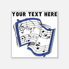 Custom Music Sheet Sticker