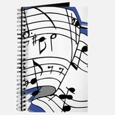 Custom Music Sheet Journal