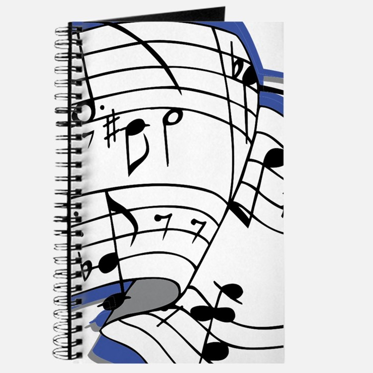 Custom Music Sheet Journal