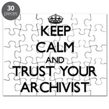 Keep Calm and Trust Your Archivist Puzzle