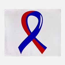 CHD Ribbon3 Throw Blanket