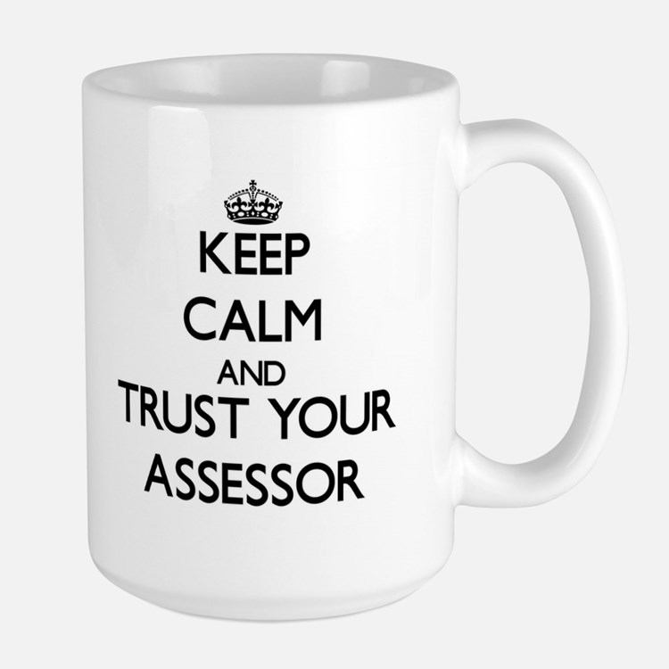 Keep Calm and Trust Your Assessor Mugs