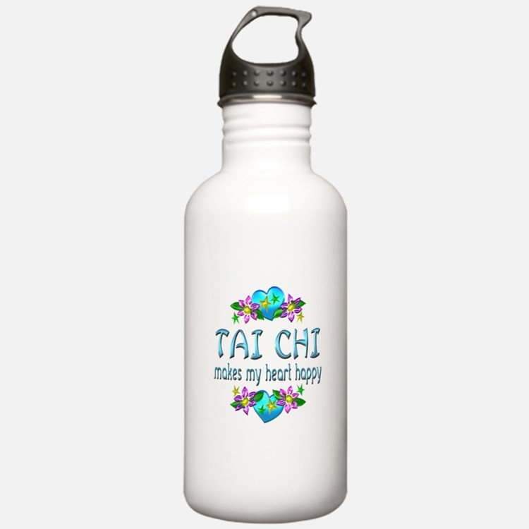 Tai Chi Heart Happy Water Bottle