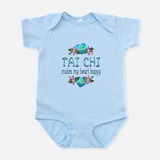 Tai Chi Heart Happy Infant Bodysuit