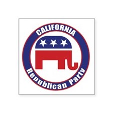 California Republican Party Original Sticker