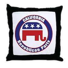 California Republican Party Original Throw Pillow